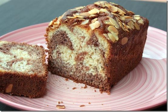 Plumcake al cacao senza glutine