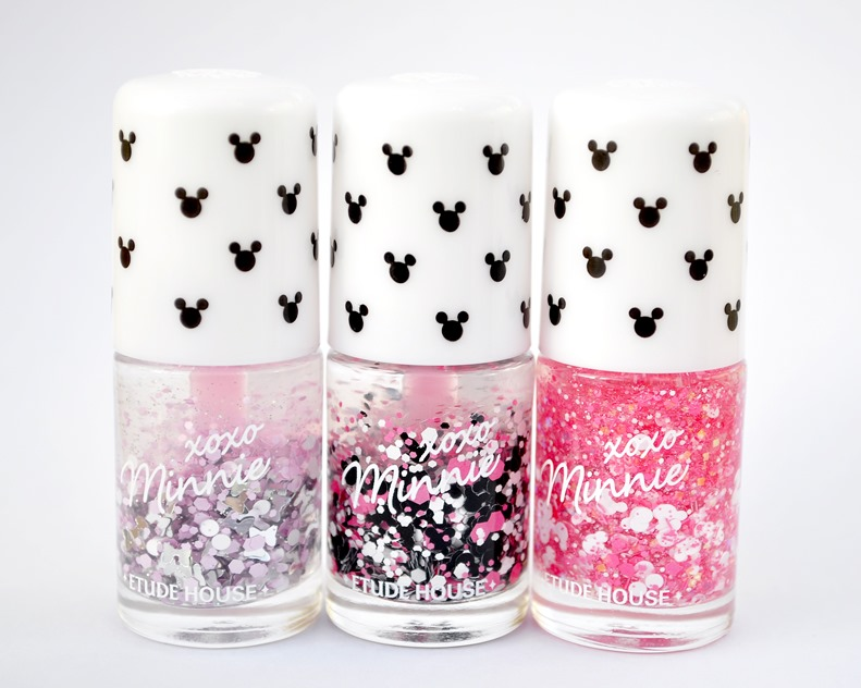 minnie mouse nail polish etude house