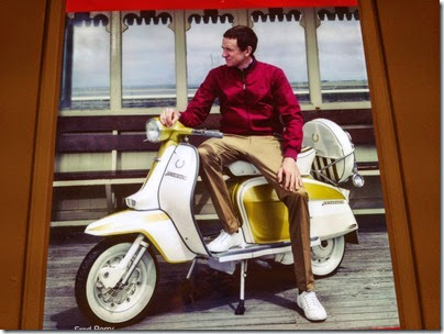 Fred Perry X Vespa ad