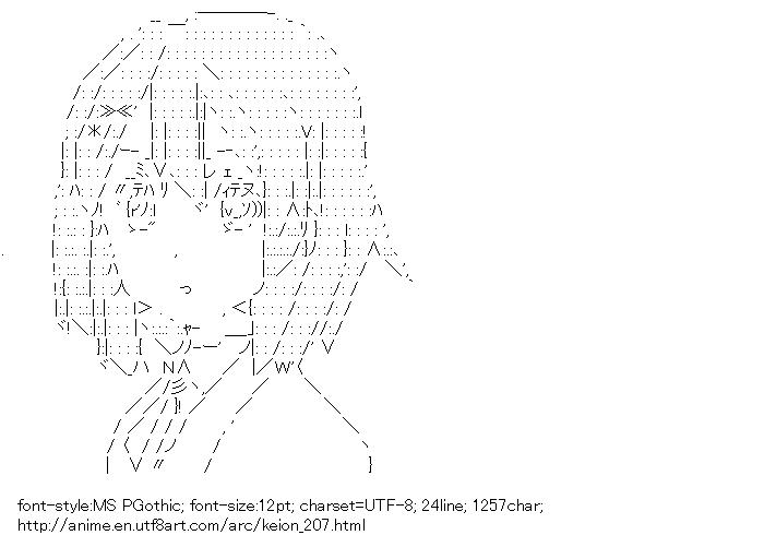 [AA]Hirasawa Yui (Keion!)