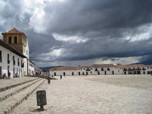 Villa de Leyva's massive central square