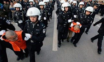 Chinese-police