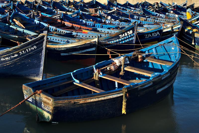 Vestitele barci de Mogador.