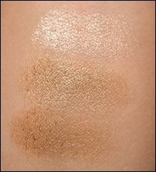 CoverGirl Shimmering Sands Swatch