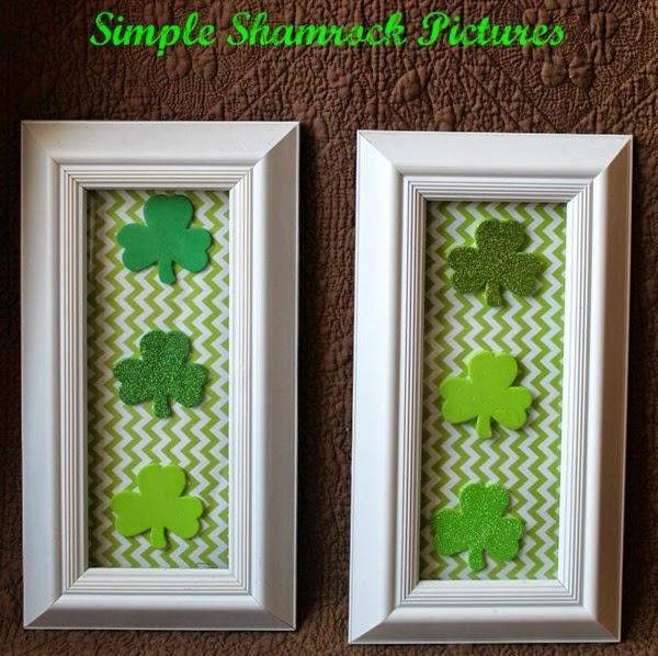 Simply Southern Mom - Framed Shamrocks
