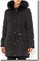 Wallis Black Parka