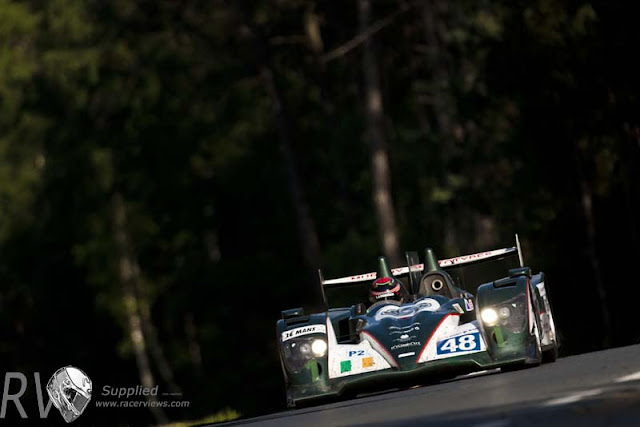 The Murphy Oreca Nissan added an Irish flavour to Le Mans (PHOTO: Drew Gibson / Nissan)