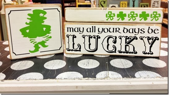 DIY ST PATRICKS DAY CRAFT - LUCKY BLOCK SET
