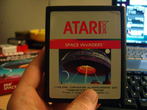 Cartucho Space Invaders Atari2600