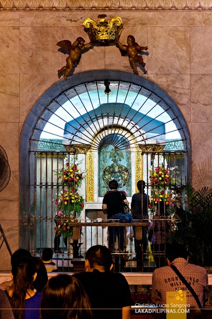 The Image of the Señor Sto. Niño at Cebu's Sto. Niño Church