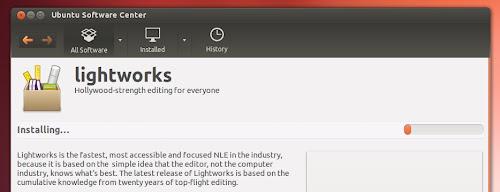 Lightworks su Ubuntu