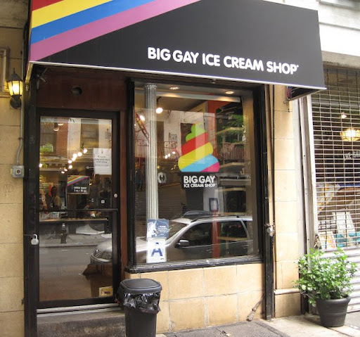Big Gay Ice Cream Shop in the East Village.