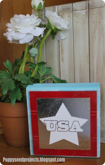 USA Bead Board Block