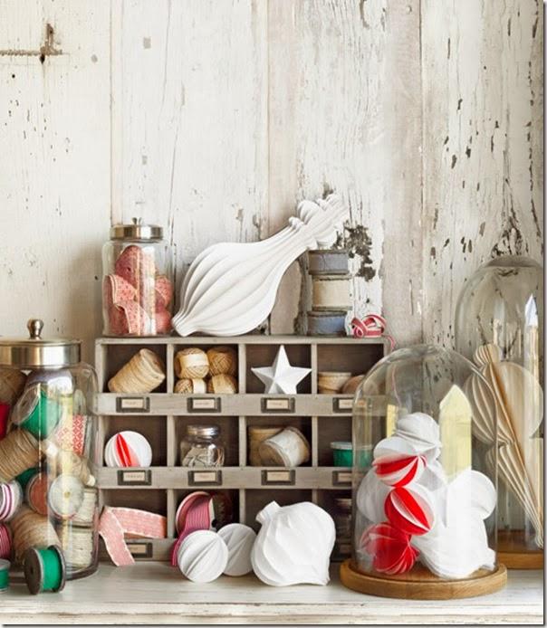 case e interni - shabby chic - decorazioni Natale (4)