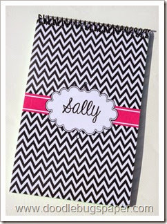 notebookblackchevron
