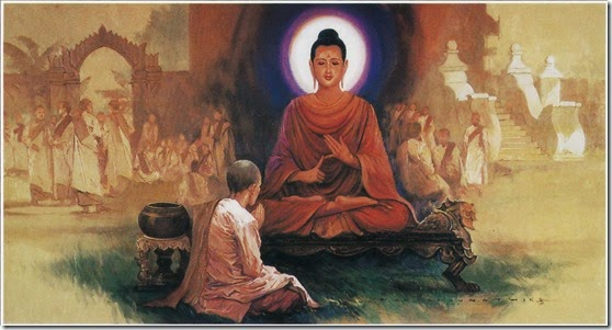 The Buddha Teaches the Dhamma