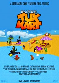 Supertuxkart OfficialPoster