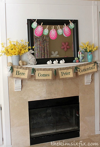 Peter cottontail mantle