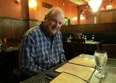 Terry At MoGetis For Dinner