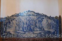 Glória Ishizaka - Mosteiro de Alcobaça - 2012 - Sala dos Reis - azulejo 1