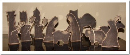 wooden nativity pattern free