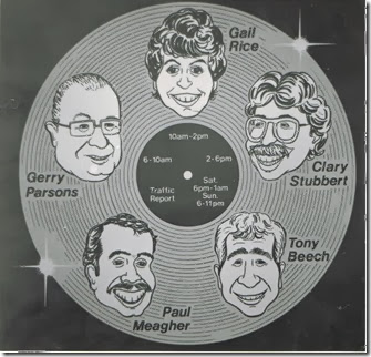Gerry Parson Tony Beech Gail Rice