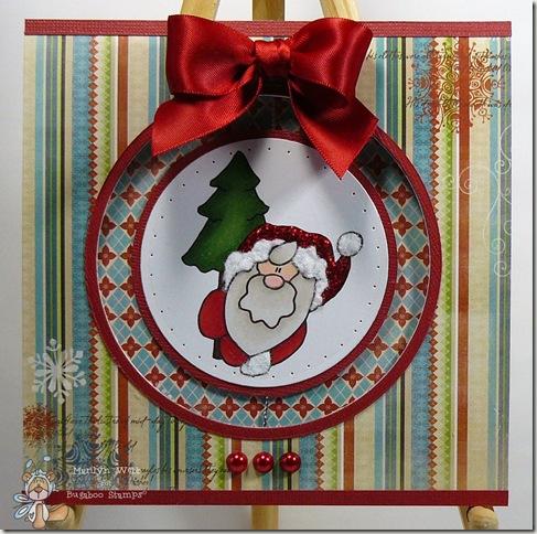 Simple Santa Tree