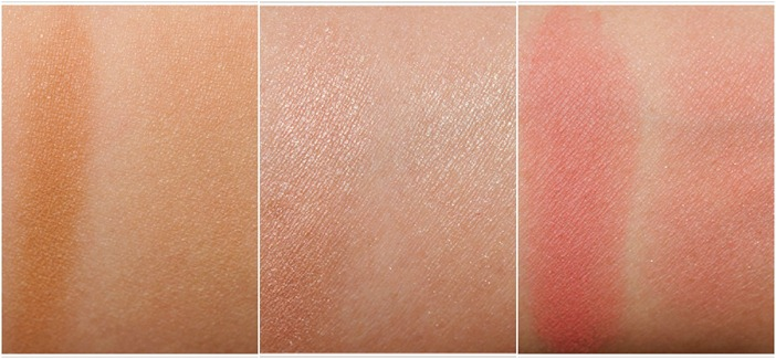 Naked Flushed Palette swatches