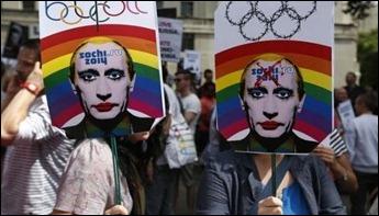 Londres manifestação contra Russia