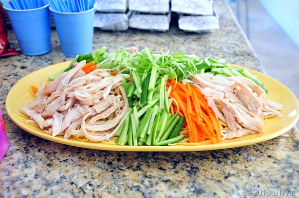 Chicken Cold Noodle with Sesame Dressing