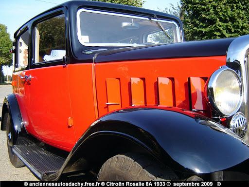 Citroën Rosalie 8 A 1933
