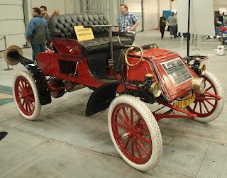 Rambler 1903 typ E, najstarszy zarejestronawy w Posce samochód, na chodzie