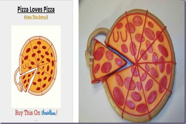 Camiseta-Bolo-Pizza