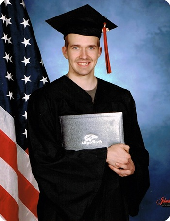 Mike's Grad pic Wyotech