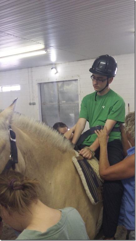 Wes July 9 horseback
