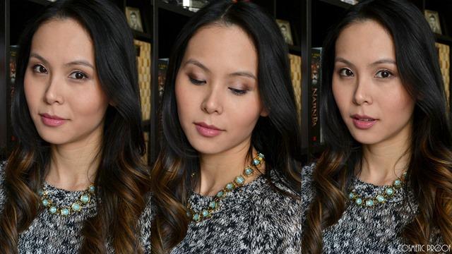 Guerlain Ecrin 1 Couleur Pink Pong Review Swatches Makeup Look