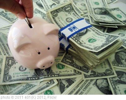 'Money - Savings' photo (c) 2011, 401(K) 2012 - license: http://creativecommons.org/licenses/by-sa/2.0/