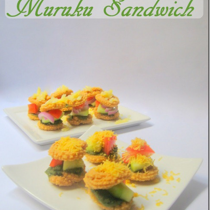 Murukku Sandwich & Sandwich Chutney Recipes