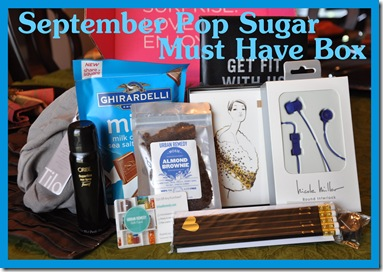 Pop Sugar Must Have September Box 1