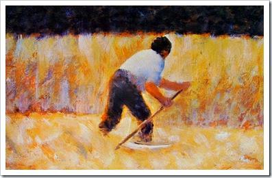 6 Georges Pierre Seurat-falciatore