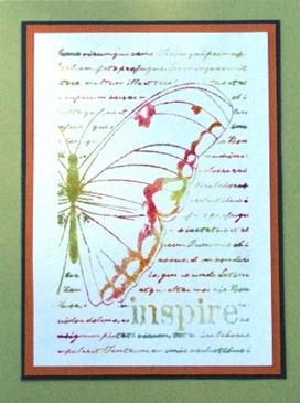 2011 08 LRoberts 30 Minute Inspiring Butterfly Card