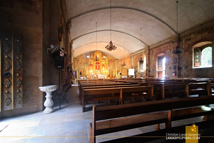 The Solemn Interior of Miag-Ao Church