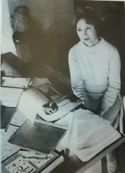Anais Nin at work