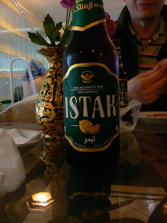 Teheran beer: Ishtak - local beer