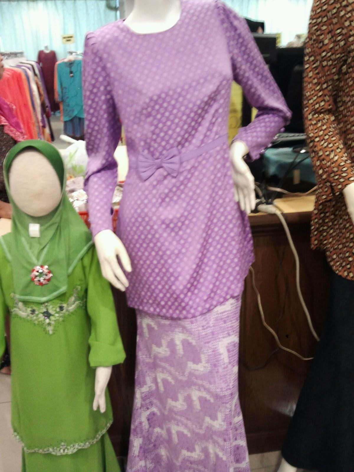 potongan baju saloma dah glemer balik fesyen camni peplum tu pun baju