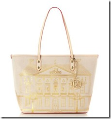 Love Moschino Portable Home Tote