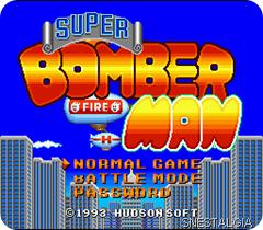 Super Bomberman-snes-inicio