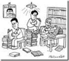 imagem crianças estudando