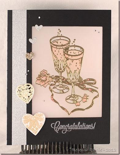 vellum wine glass congrats