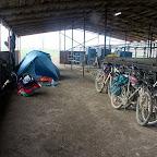 Палатки под крышей :)